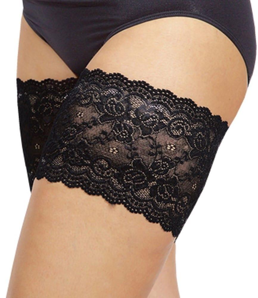 Black Onyx line Bandelettes, the anti thigh rubbing solution.