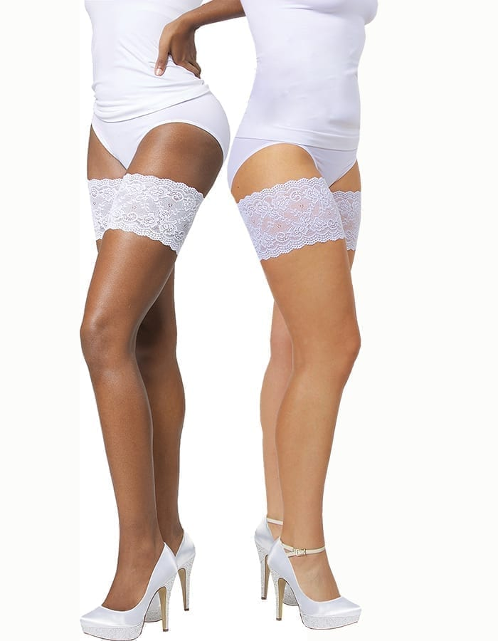White onyx Bandelettes solve the painful thigh chafing!