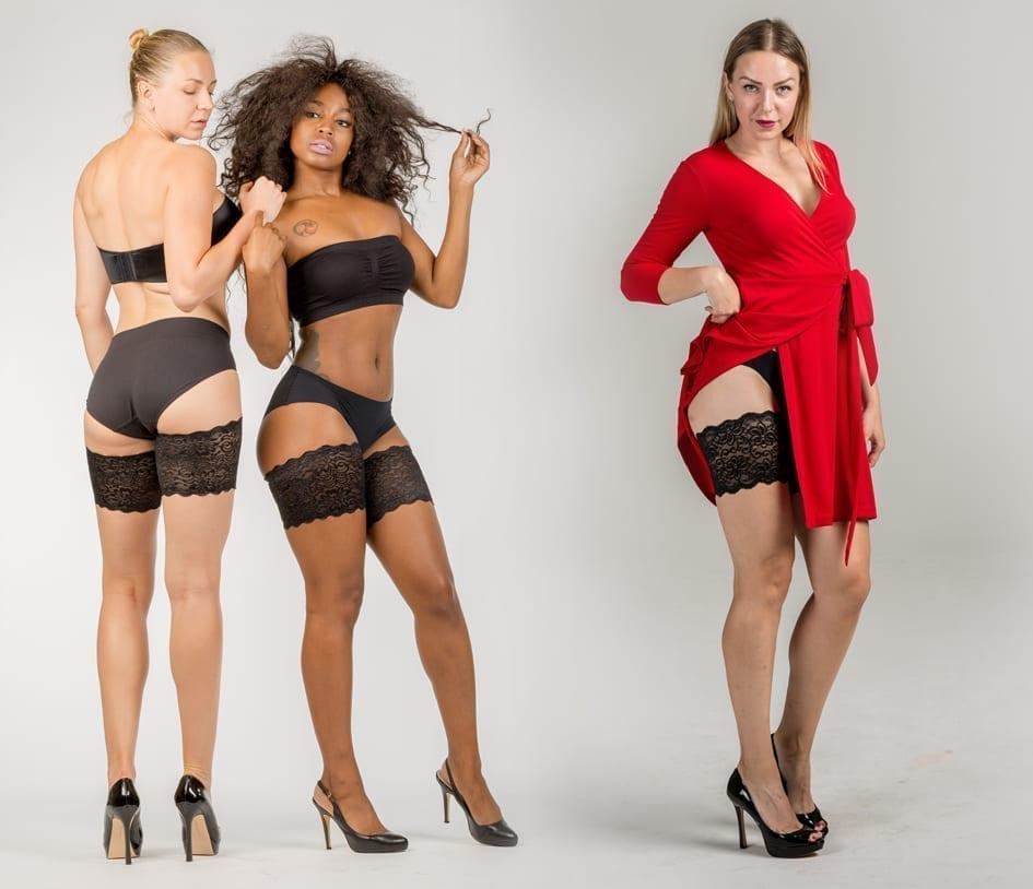 Bandelettes, Model Dolce, Black lace