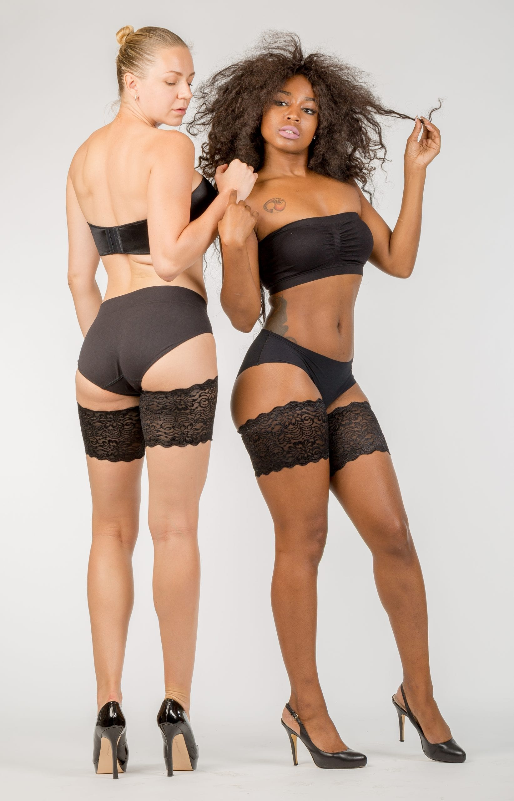 Lace anti chafing solution