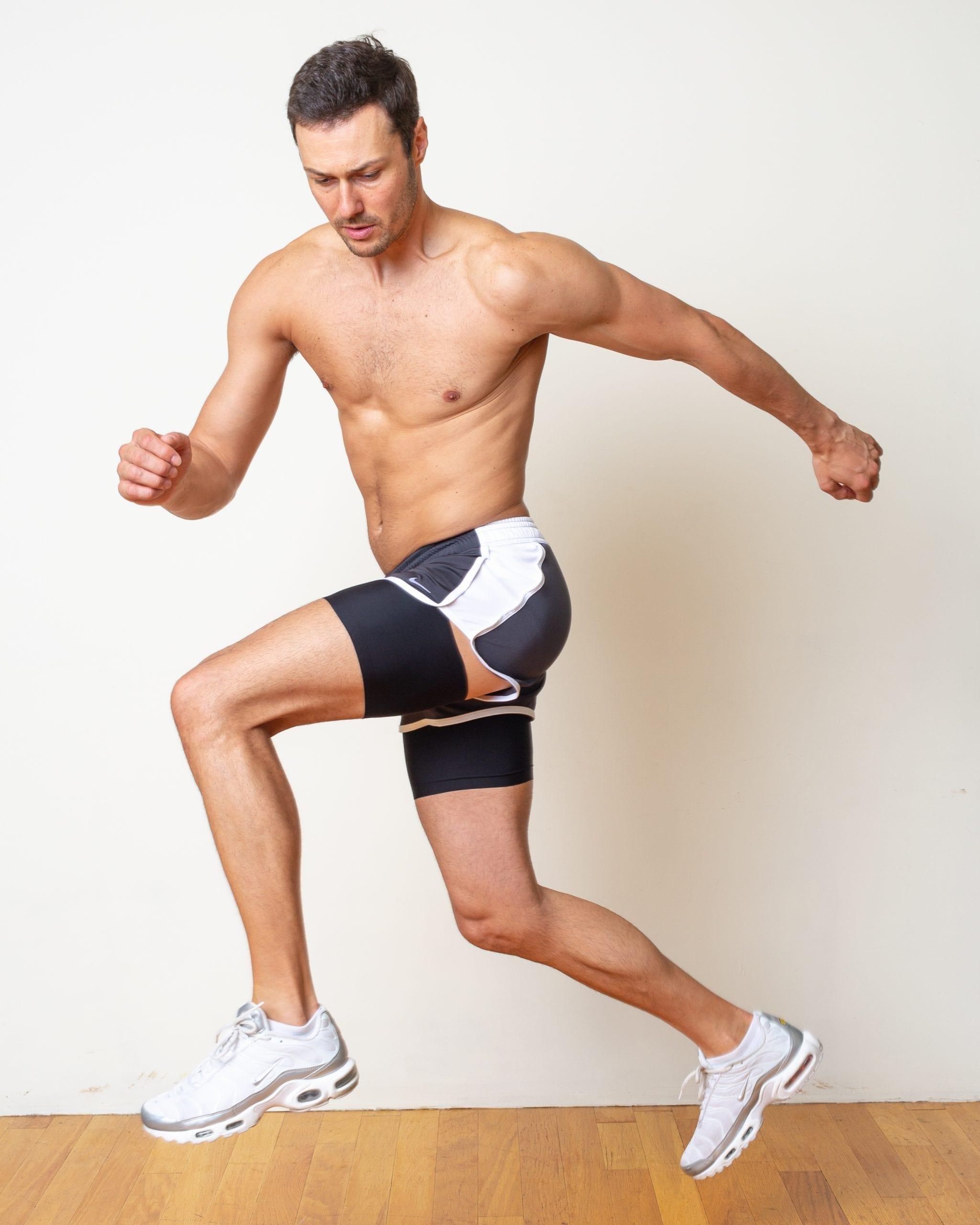 No thigh rubbing workout bands Bandelettes